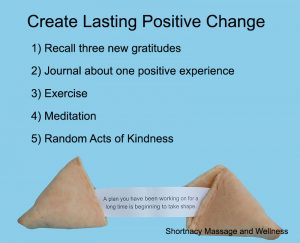 Create Lasting Positive Change